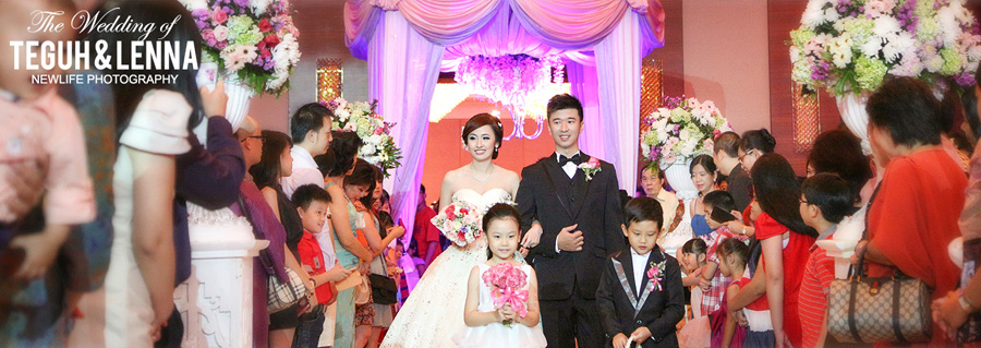 wedding reception of Teguh & Lenna (1)